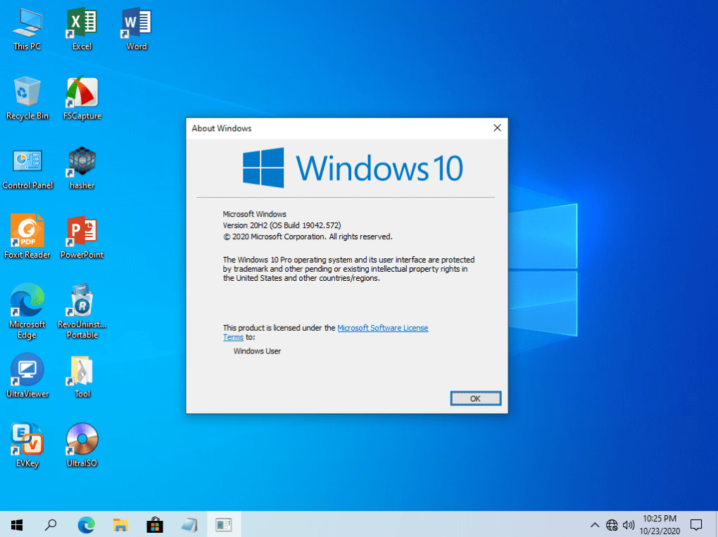 Windows 10 Pro 20H2 Anhdv Premium V2 – PhuocIT