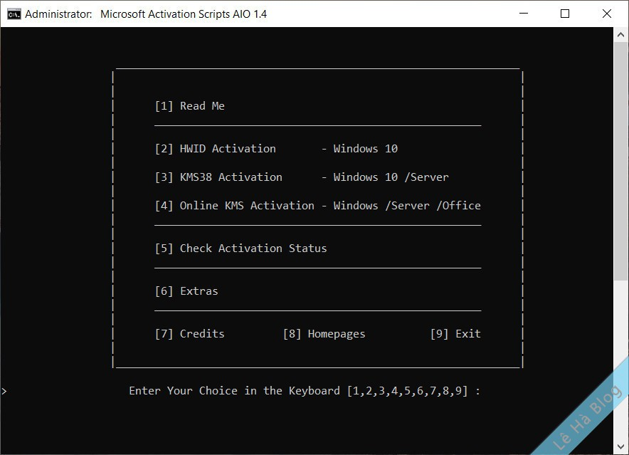 TỔNG HỢP Active Win 10, Win 7, Office